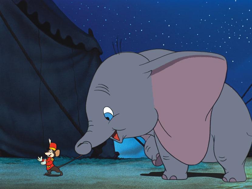 animaux disney dumbo elephant
