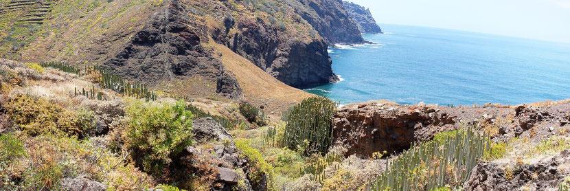 Costa de Érica desde la casa de Severia / Costa de Afur, Tenerife.