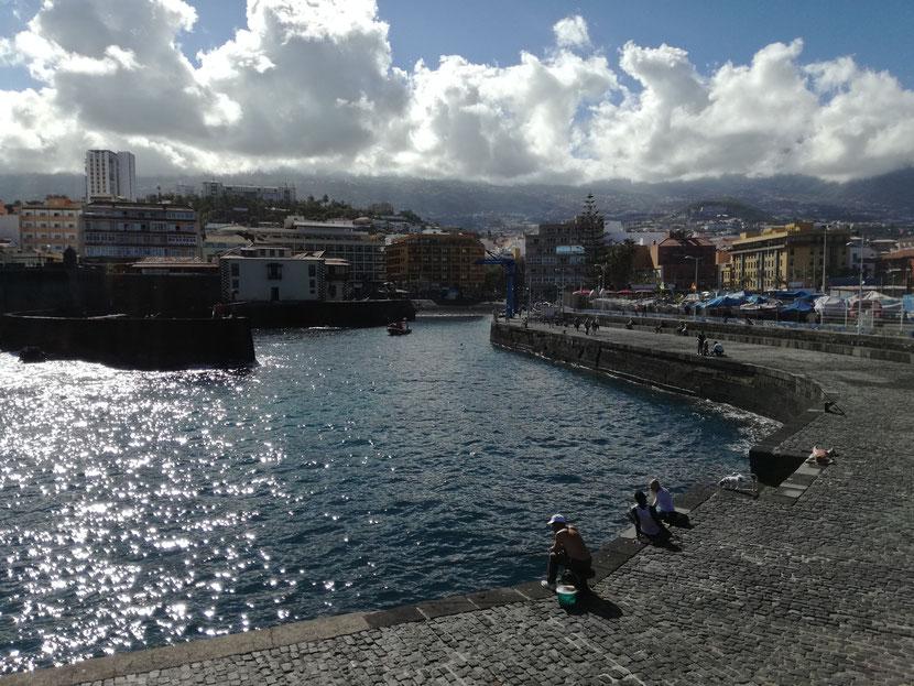 Puerto Viejo, San José de Lotavia / muelle pesquero de Puerto de la Cruz.