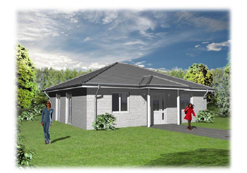 Schmitz Baugeschäft - Einfamilienhaus Modern 100