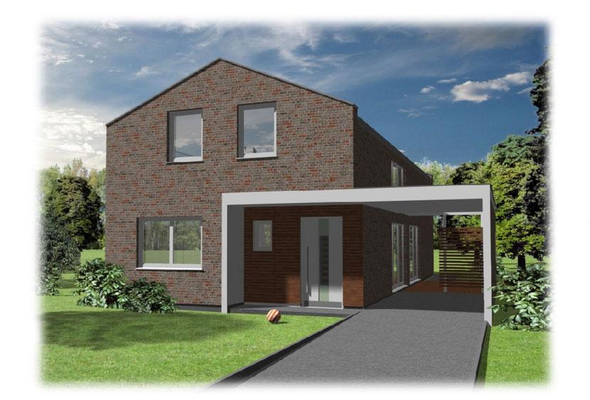 Schmitz Baugeschäft - Einfamilienhaus Modern 150