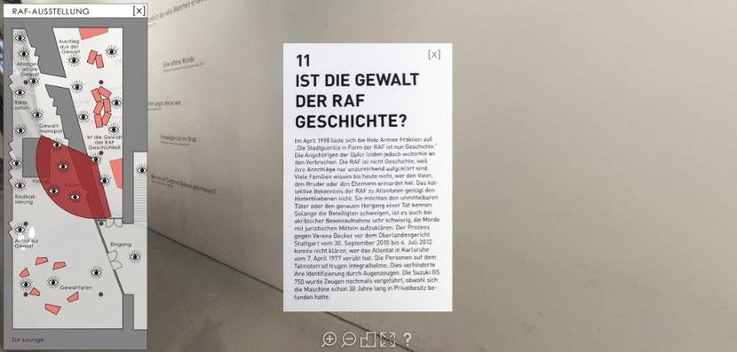 Screenshot mit Genehmigung des Hauses der Geschichte Baden-Württemberg.
