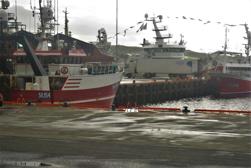 Killybegs Fischereihafen im Bezirk Donegal in Irland