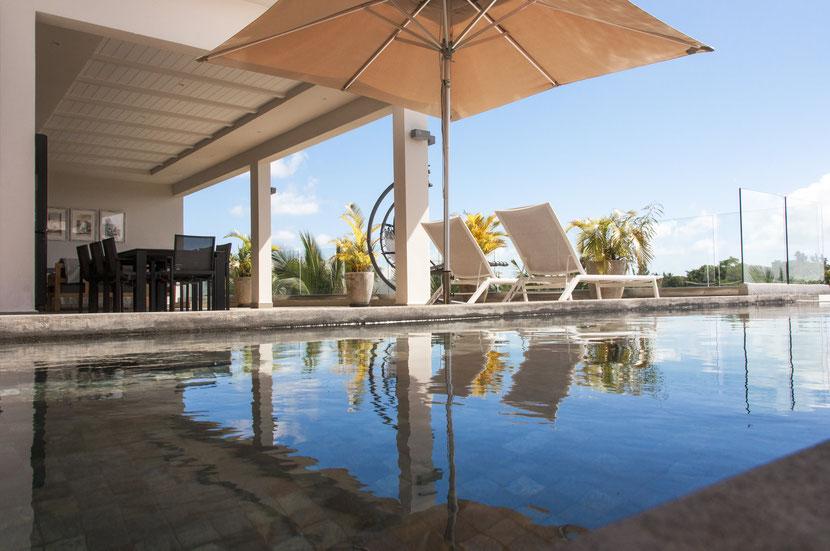 IRS grand appartement penthouse Vue mer sea view haut de gamme ile maurice