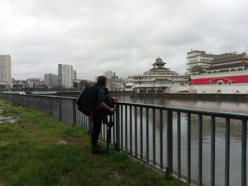 Confluence de la Marne et de la Seine