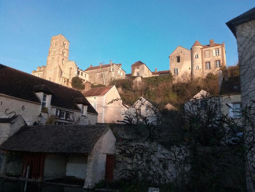 Vue de Château-Landon