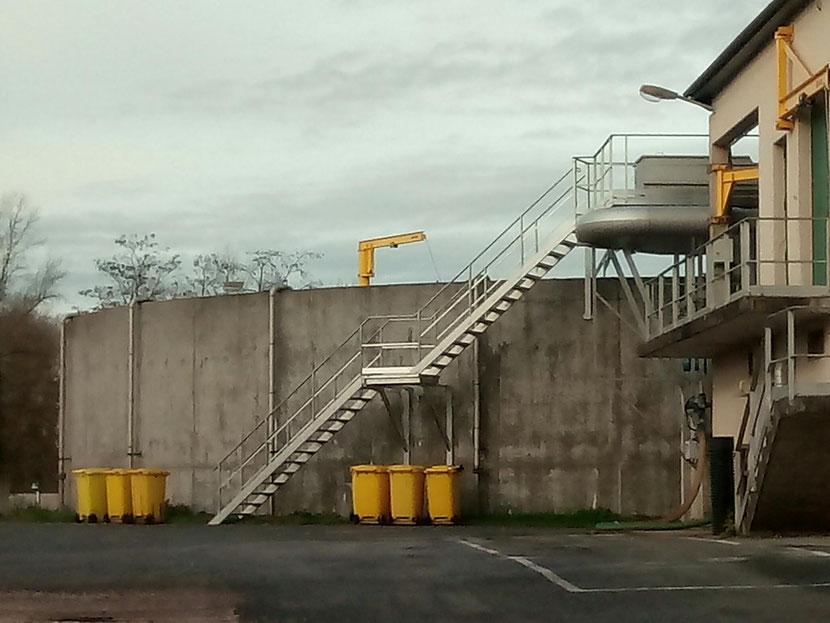 Station d'épuration de Cosne sur Loire