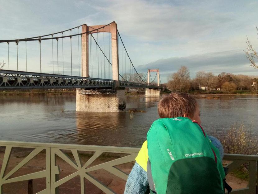 Le pont de Cosne sur Loire