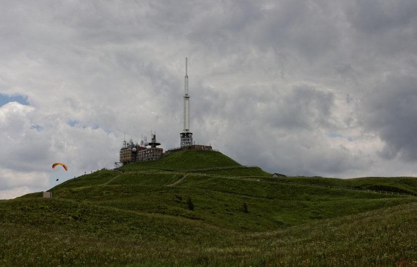 Le sommet du Puy de Dôme