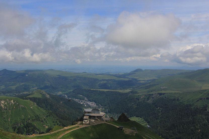 Vue sur le Mont Dore