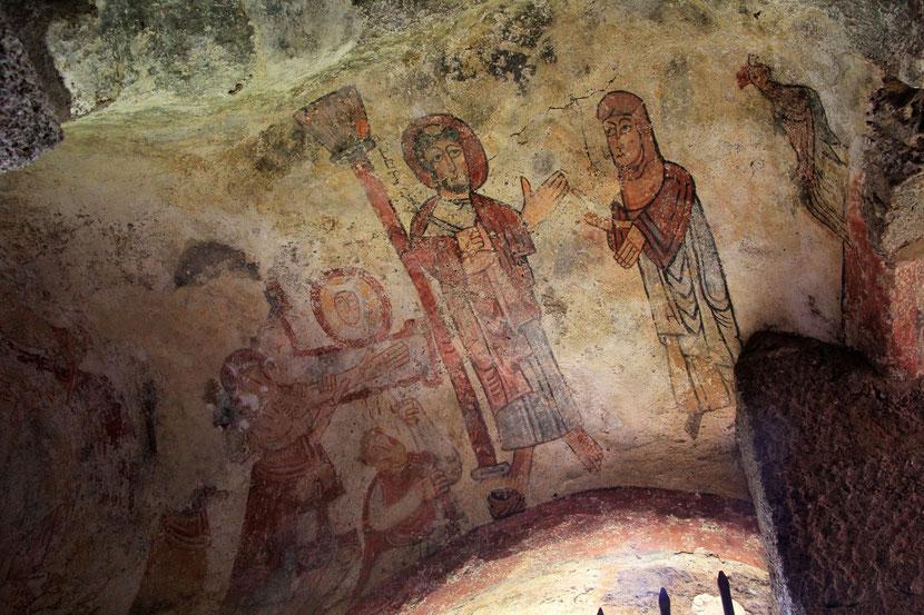 Fresque de la chapelle