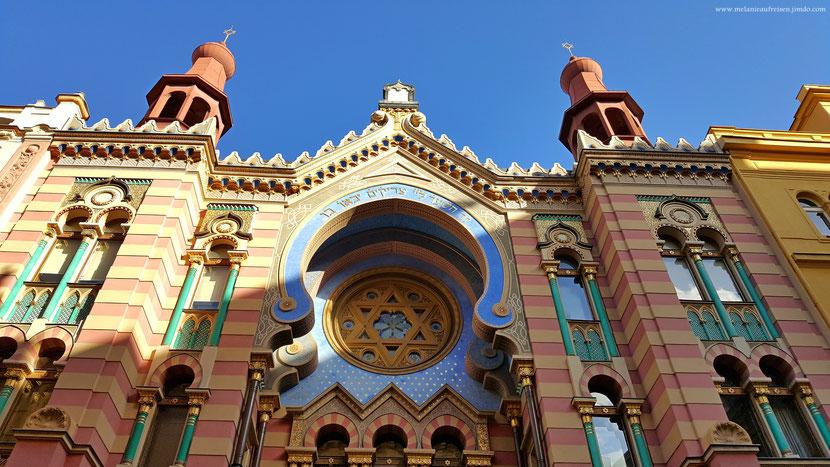 Spanische Synagoge Prag MelanieaufReisen Fotoparade