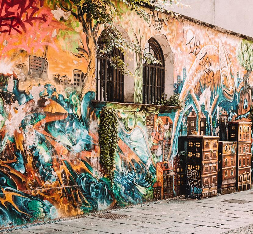 стрит-арт в Милане