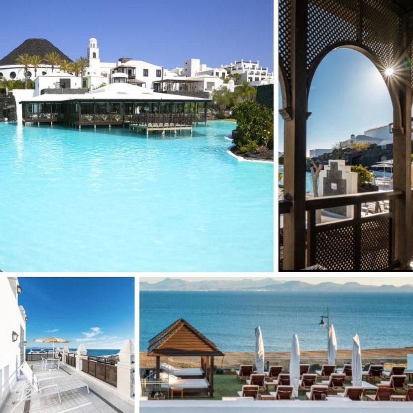 отель в Мальдивском стиле на острове Лансароте