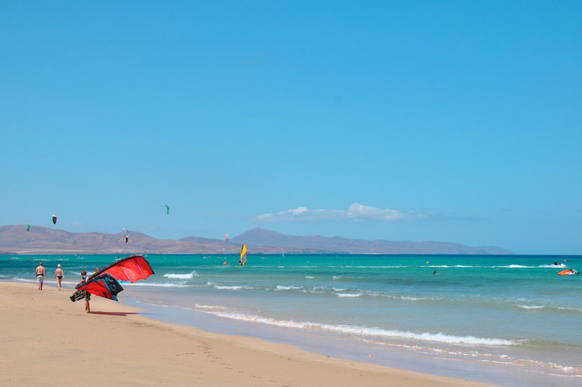 The Canary Islands in March