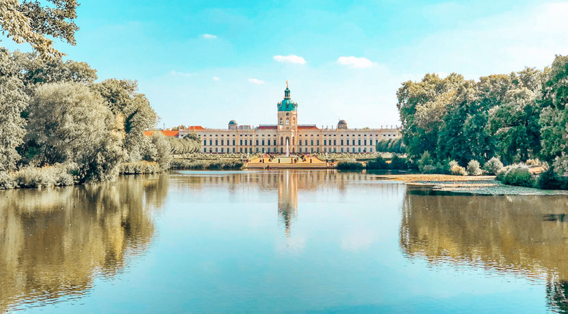 Charlottenburg district is the heart of West Berlin