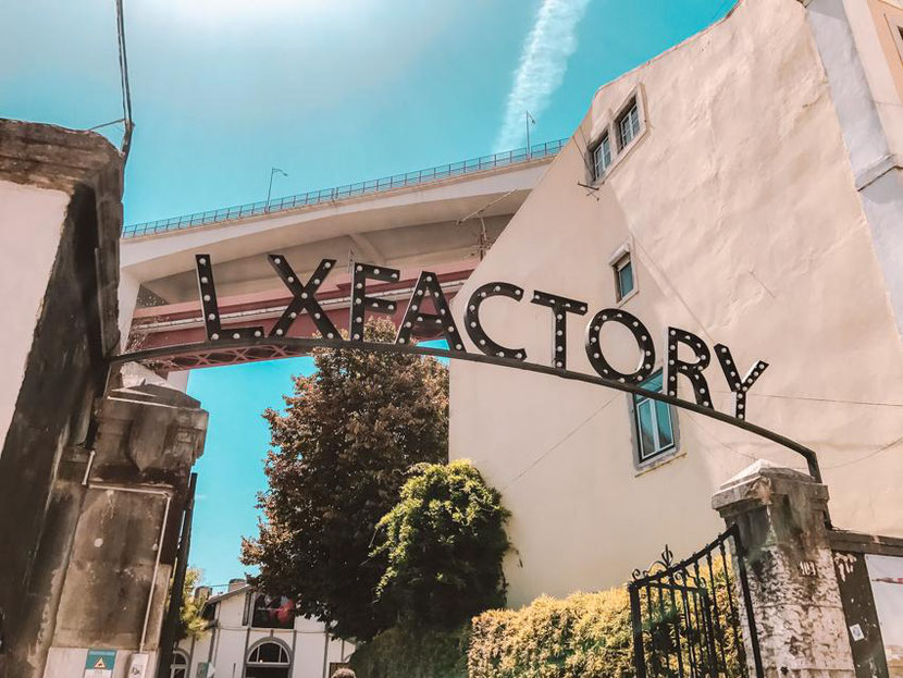 LX Factory - a hipster post-industrial place in Lisbon, Portugal