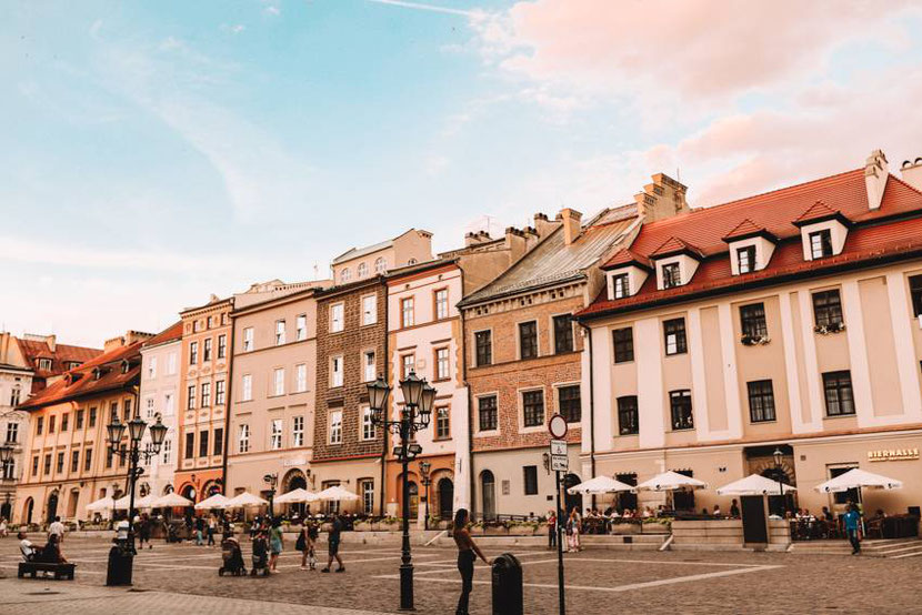 Little Market Square is one of Krakow hidden gems