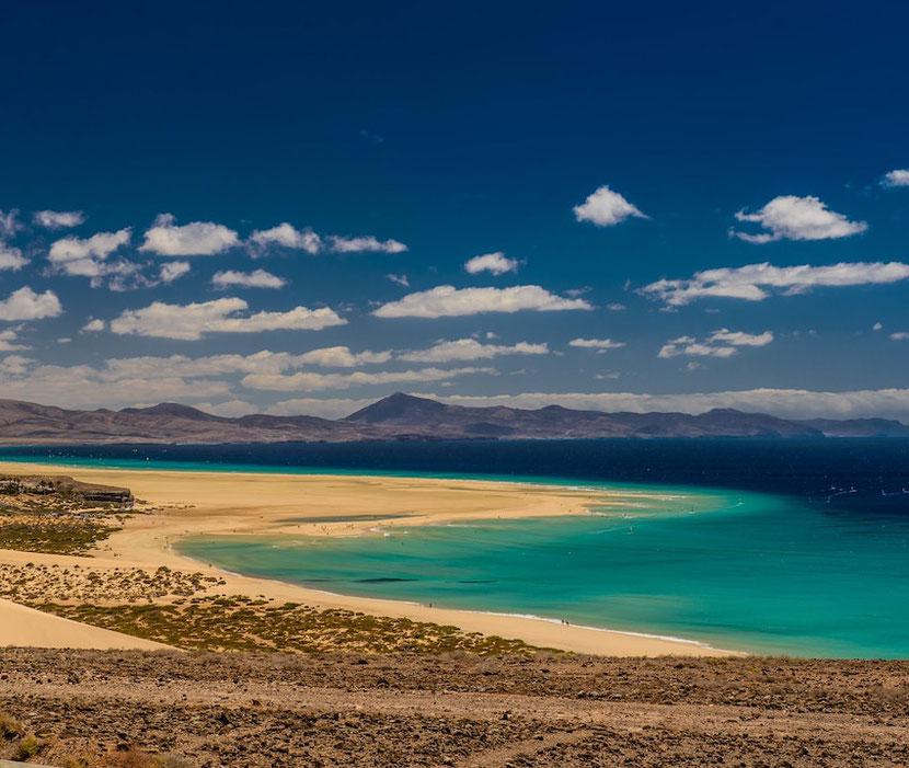 the best beach in Fuerteventura