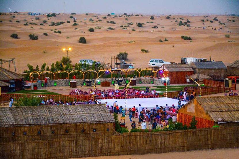 Desert Safari Dubai bedouins camp
