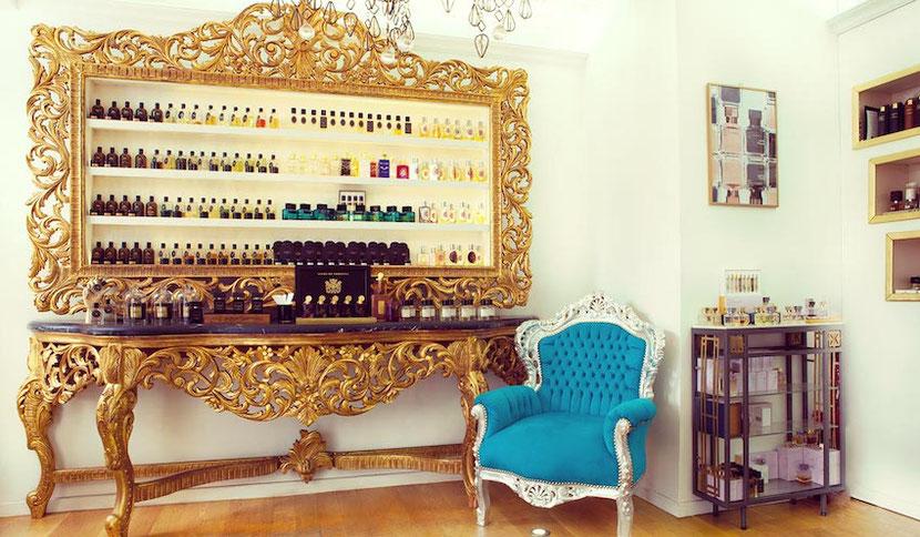 независимый нишевый парфюмерный магазин в Париже