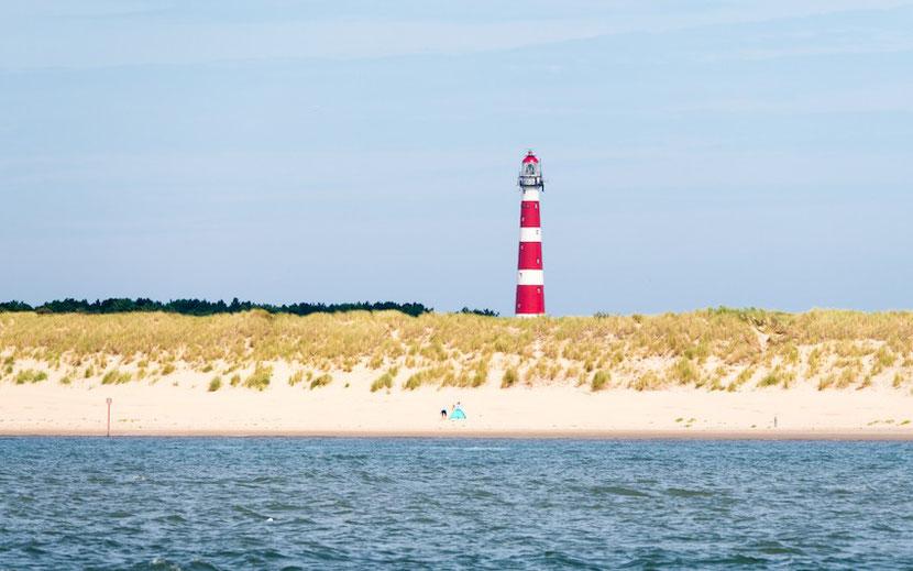 Ameland island in The Netherlands
