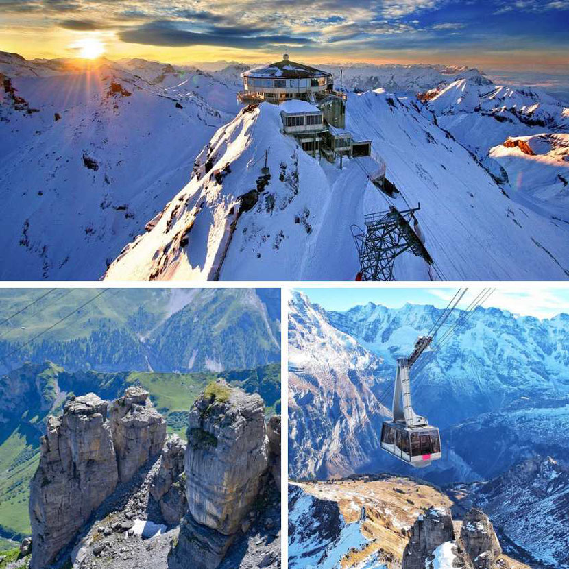 Schilthorn: unique place to visit in Switzerland