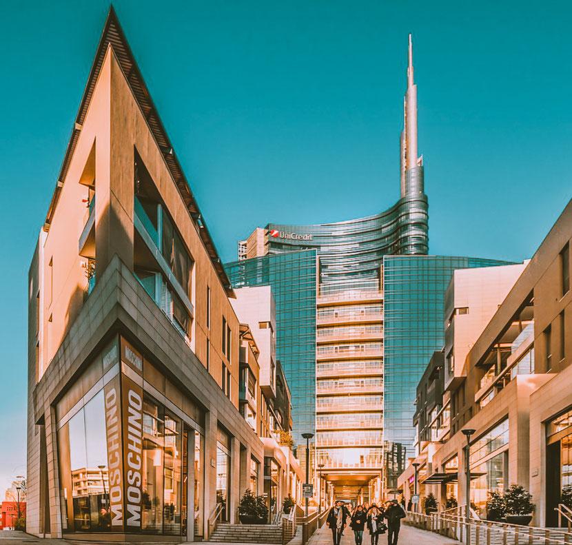 новый район в Милане, который похож на Ла Дефанс в Париже