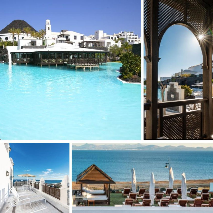 Maldives-style hotel in Lanzarote