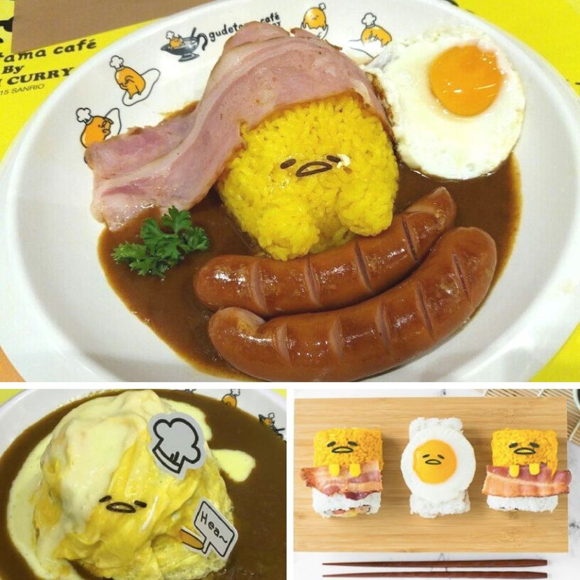 Izumi Gudetama Egg themed cafe for children and instagrammers in Hong Kong