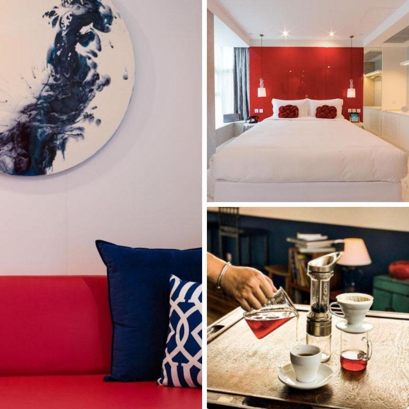 необычный арт-отель в Гонконге Tung Nam Lou Art Hotel