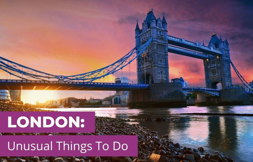 unusual and alternative things to do in London
