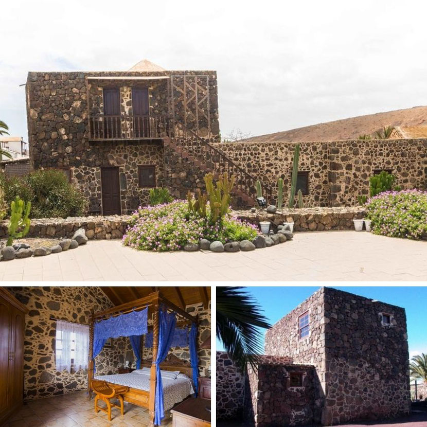 unique and unusual hotel in rural Fuerteventura on the Canary Islands