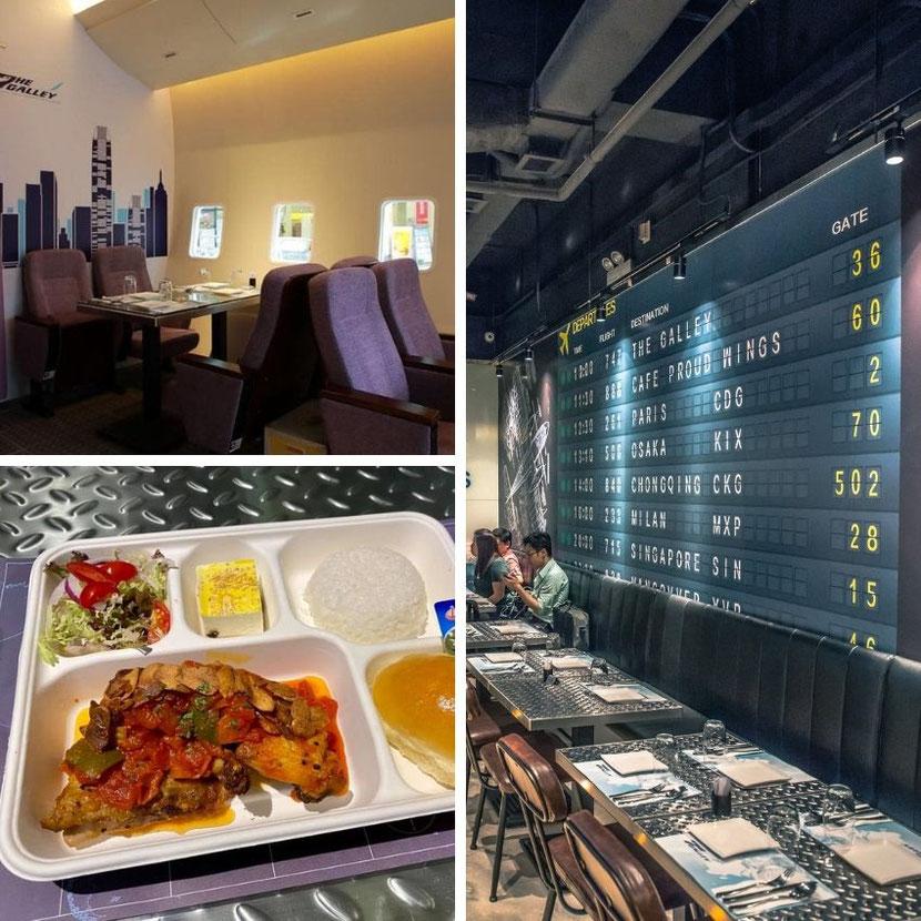 Unusual aviation-themed restaurant in Hong Kong