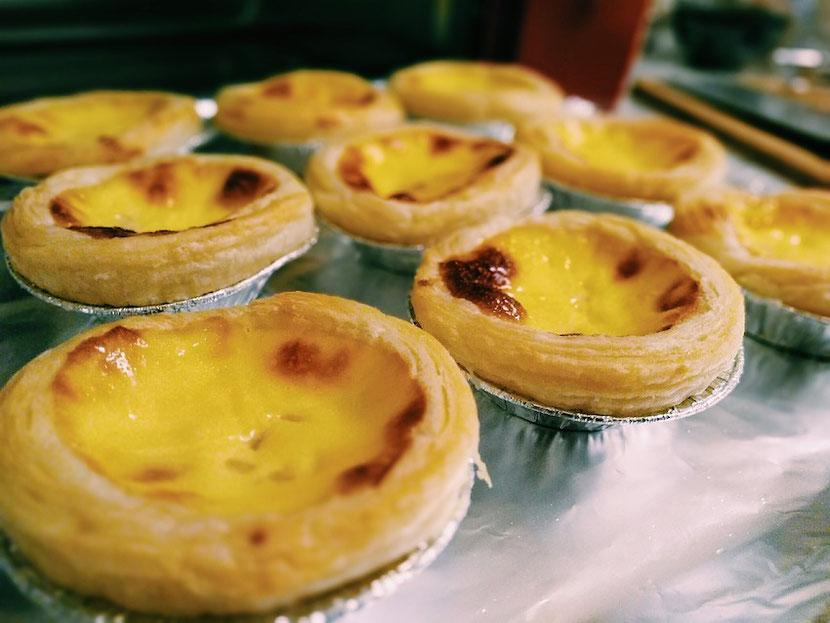 гонконгские яичные тарты-пирожные