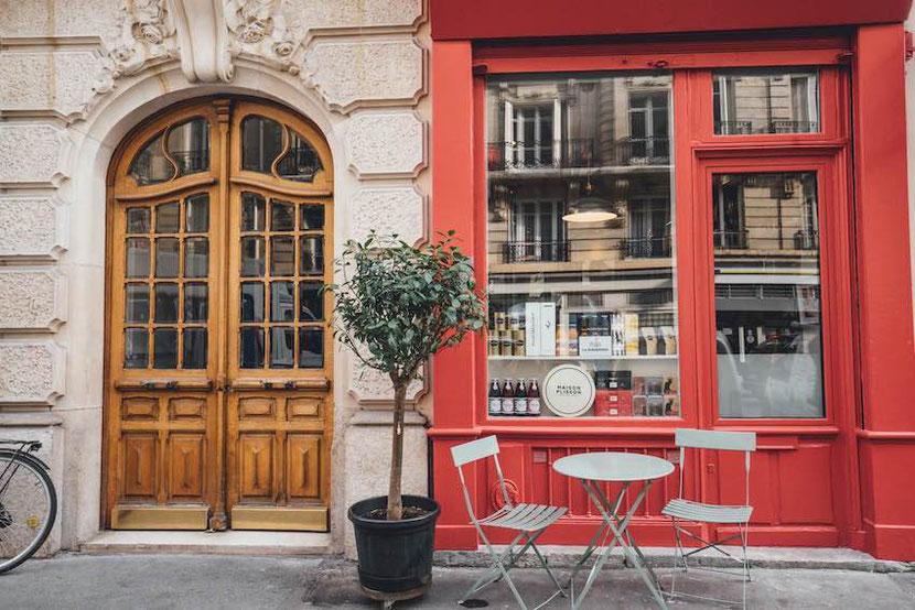 концептуальный отель в Париже в бывшем бутике