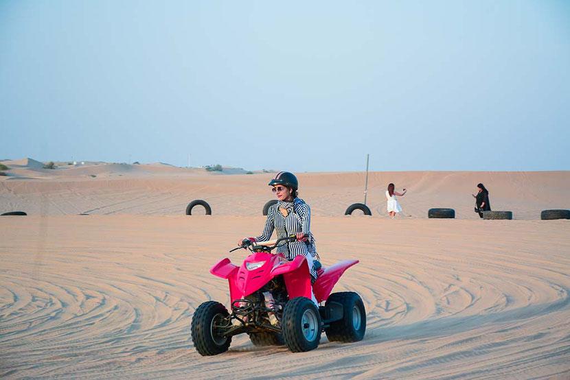 Quad biking in Dubai