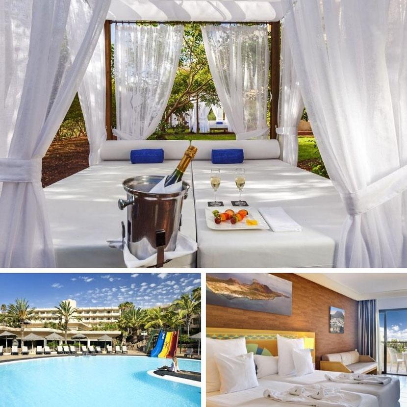 отель на Лансароте для семейного отдыха с большим бассейном