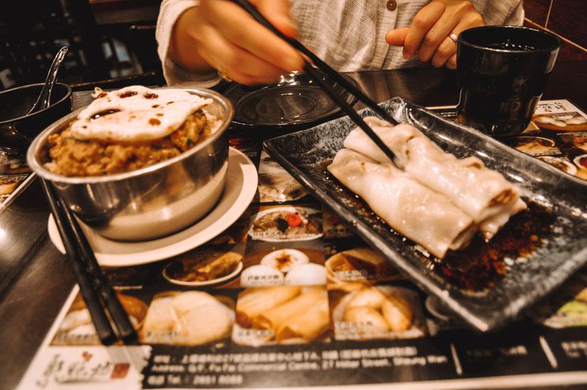 стрит-фуд в Гонконге и необычная еда в ресторанах