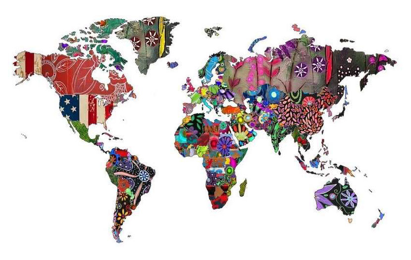 Countries covered in the Alternative Travel Guide