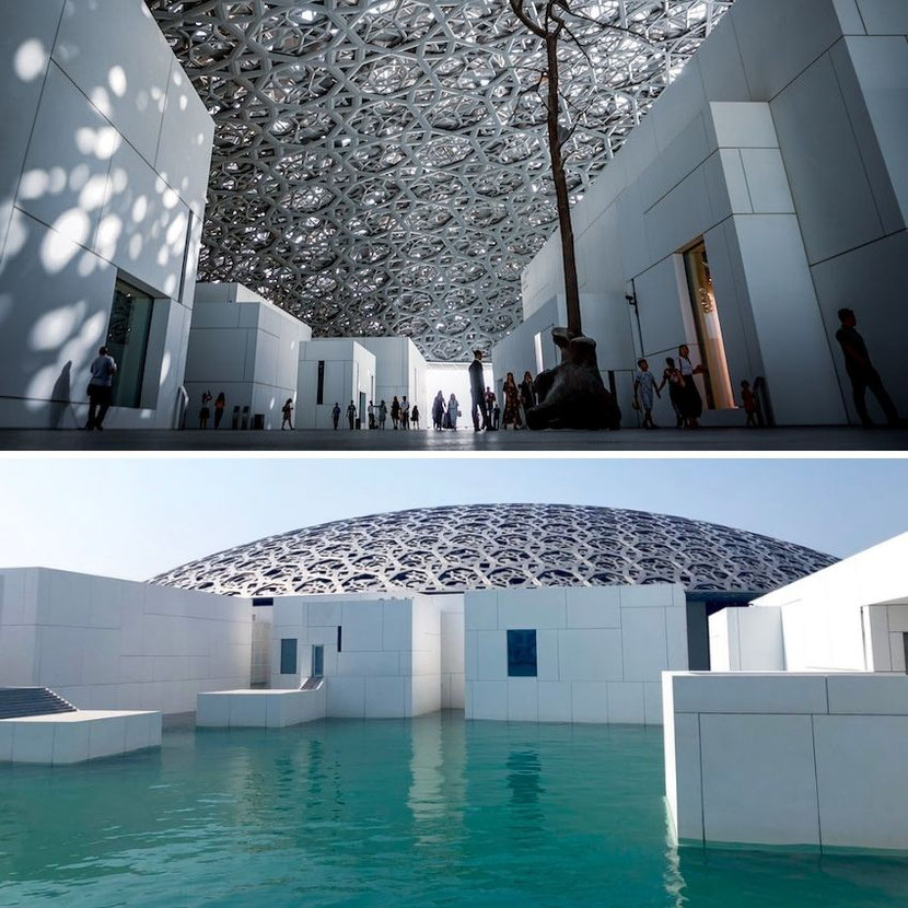 Louvre in Abu Dhabi, 2 hours drive from Dubai