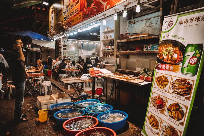 уличная еда в Гонконге: что попробовать ?