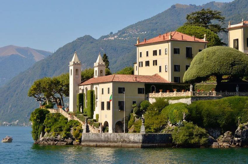 Villa Balbianello on Lake Como