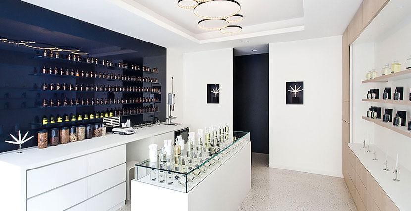парфюмерный концепт-стор в Париже