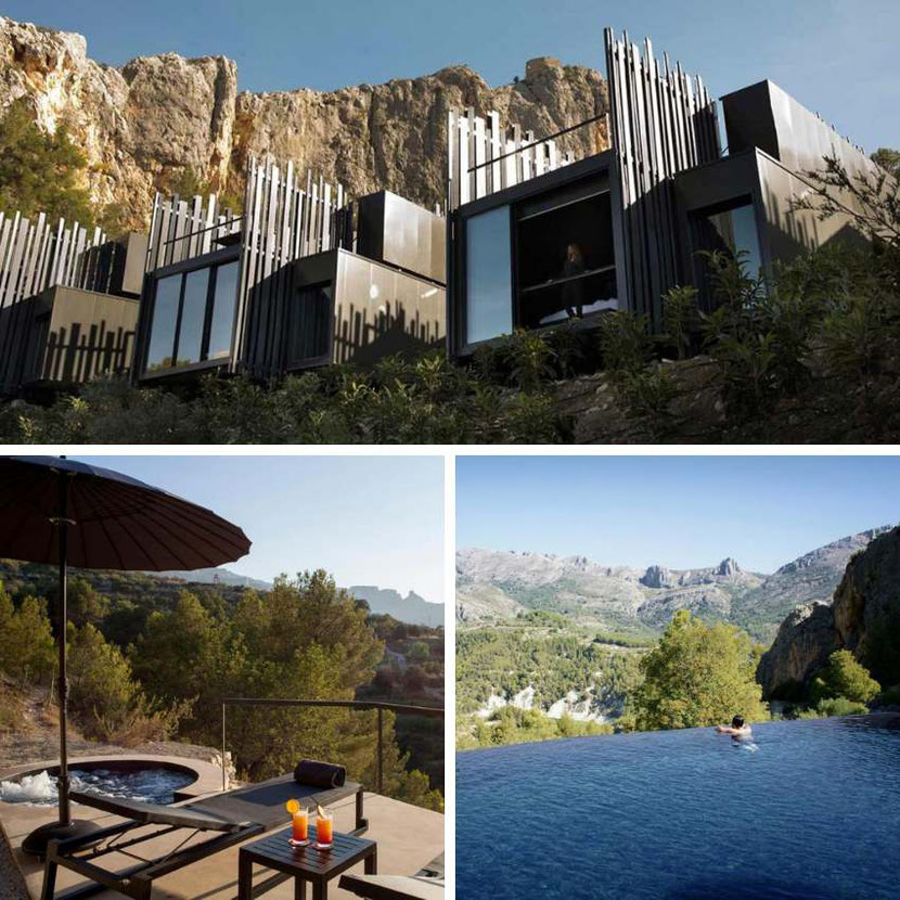 unique design and views at VIVOOD Landscape Hotel & Spa Alicante