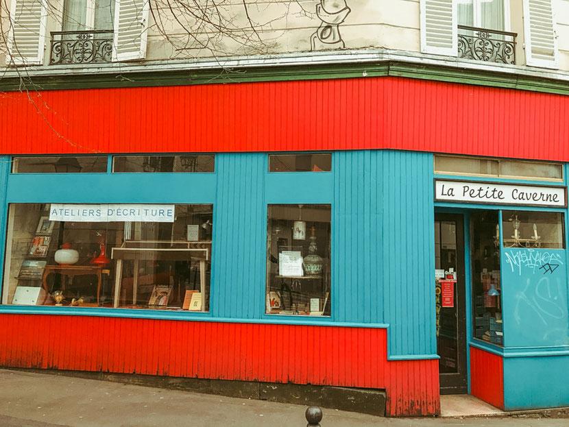 альтернативный нетуристический район в Париже Бют-о-кай
