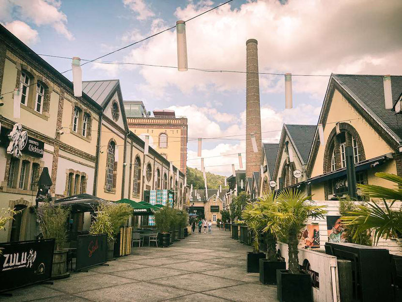 Where to stay in Luxembourg: Rives des Clausen post-industrial district is perfect for young travelers and party lovers