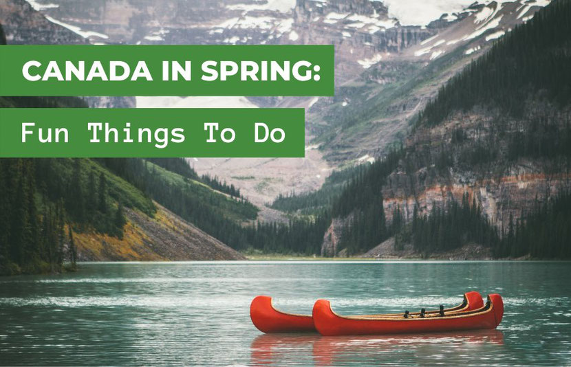 Spring in Canada: fun things to do