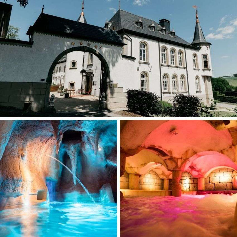 Fantastic hotel Luxembourg Spa - Chateau d'Urspelt