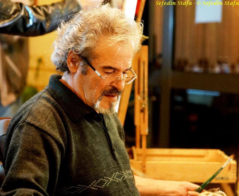 Piktori i talentuar Sefedin Stafa